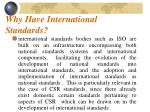 why have international standards3