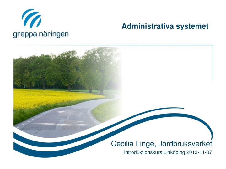 administrativa systemet