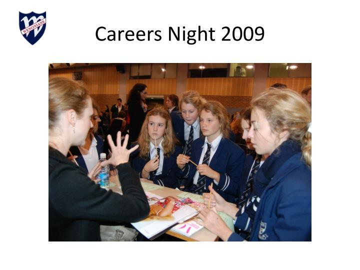 Careers Night 2009