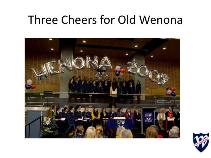 Three Cheers for Old Wenona