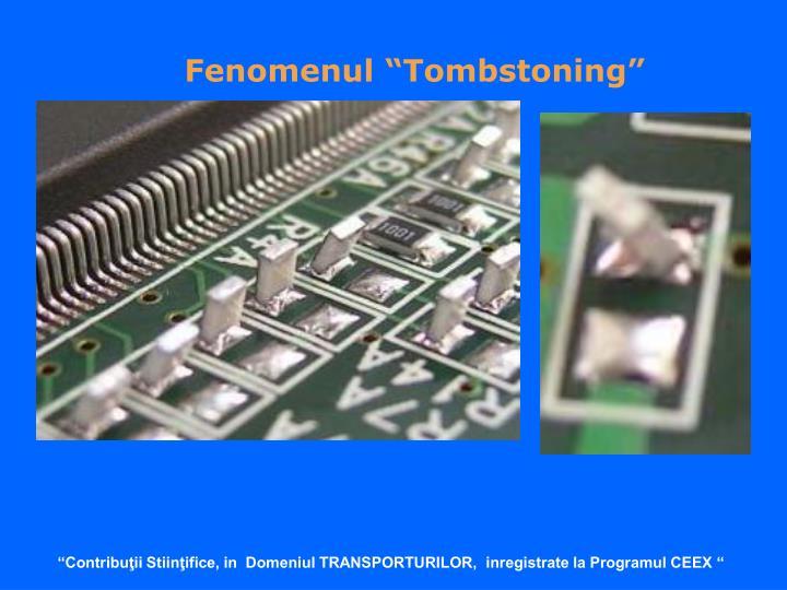 "Fenomenul ""Tombstoning"""
