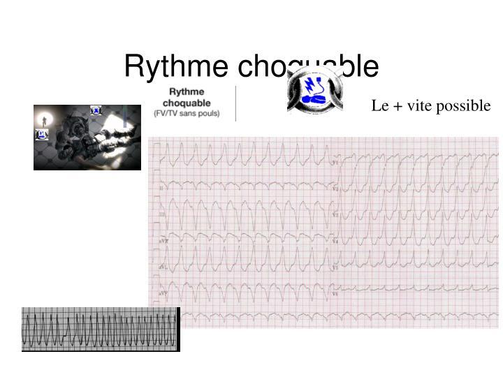 Rythme choquable