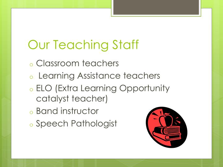 Our Teaching Staff