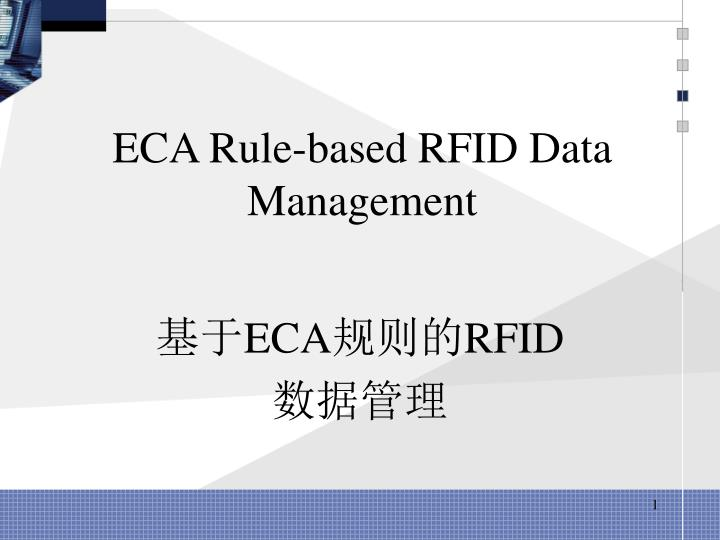 eca rule based rfid data management n.