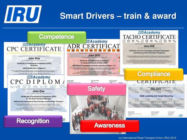Smart Drivers – train & award