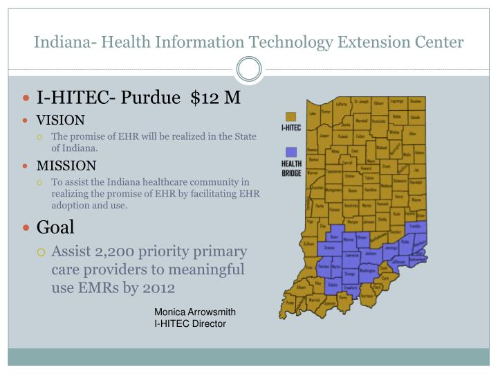 Indiana- Health Information Technology Extension Center