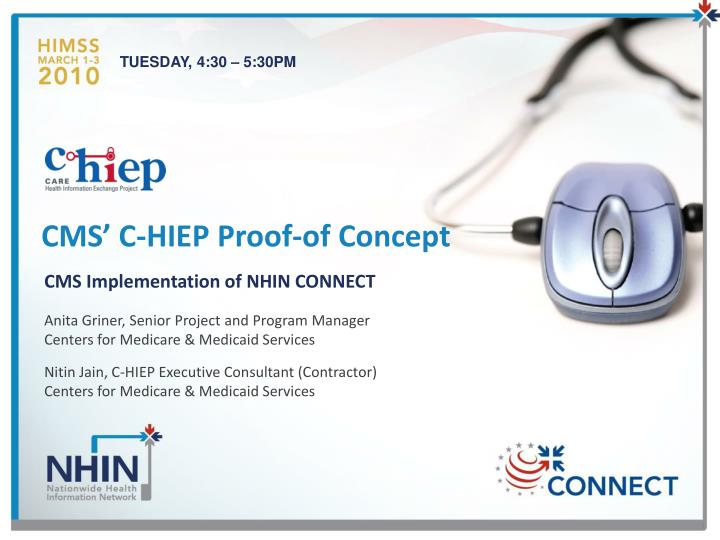 cms c hiep proof of concept n.