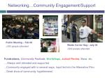 networking community engagement support