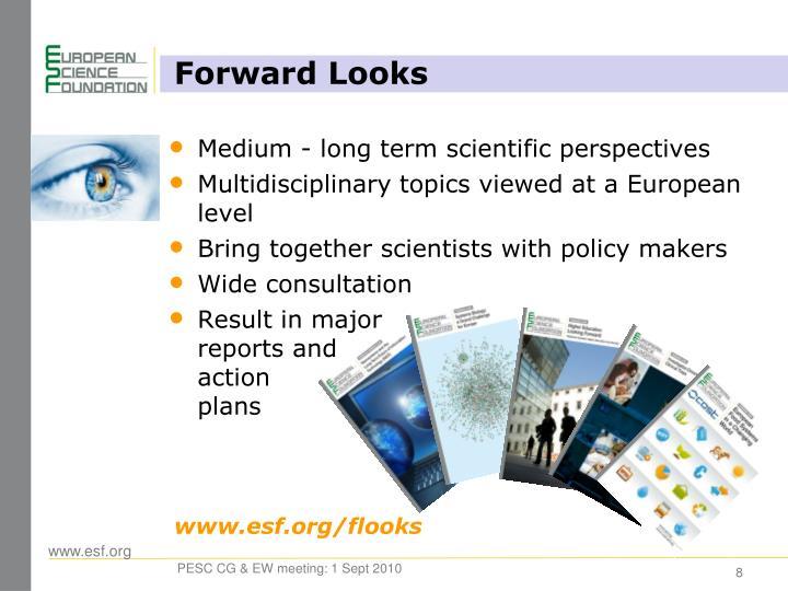 Forward Looks