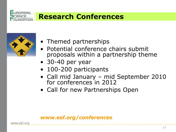 Research Conferences