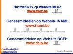 hoofdstuk iv op website mloz www mloz be