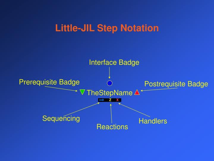Little-JIL Step Notation