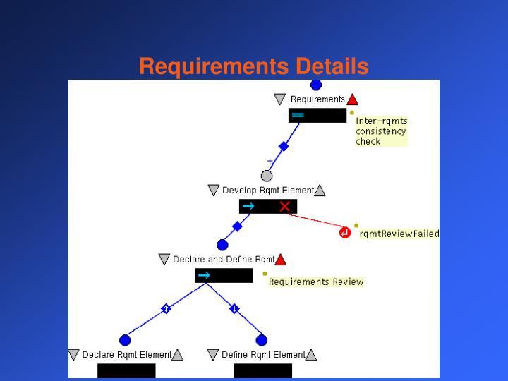 Requirements Details