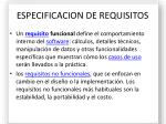 especificacion de requisitos