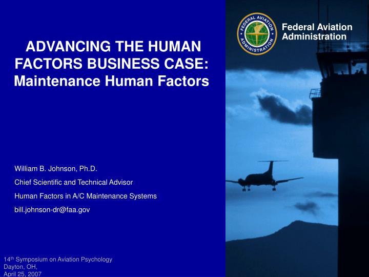 human factor in aviation maintenance essay