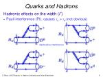 quarks and hadrons1