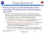 charge questions ii