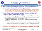 charge questions v