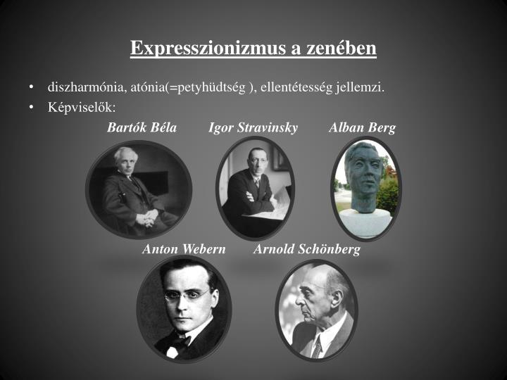 Expresszionizmus a zenében