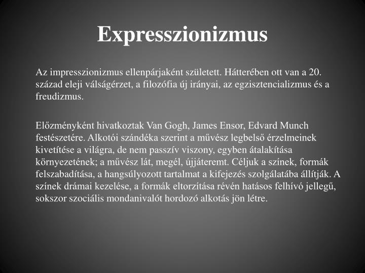 Expresszionizmus