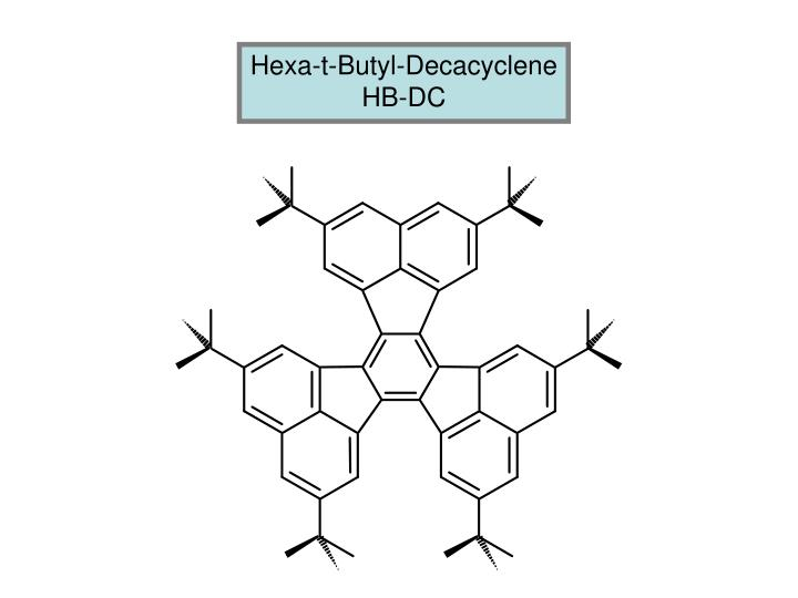 Hexa-t-Butyl-Decacyclene