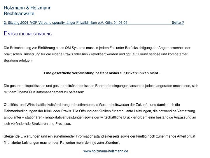 Holzmann & Holzmann