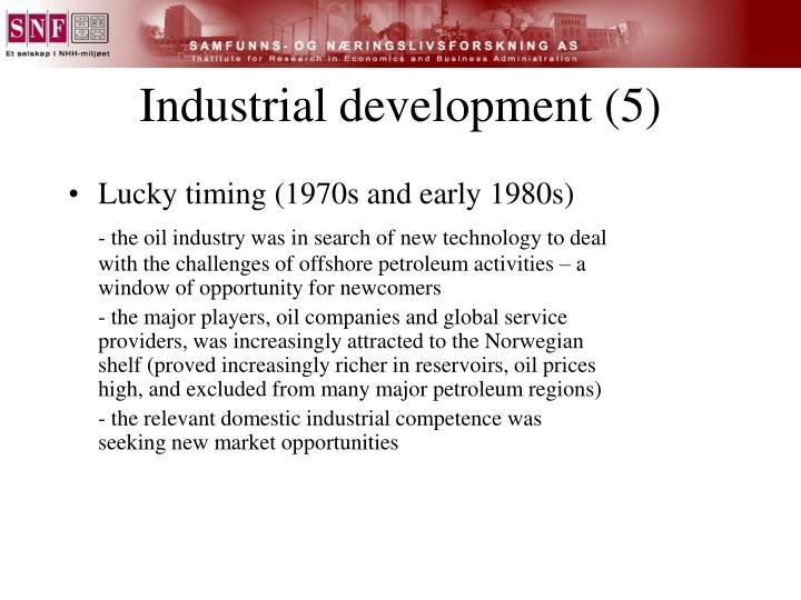 Industrial development (5)