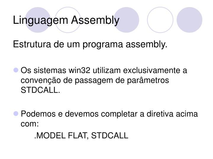 Linguagem Assembly