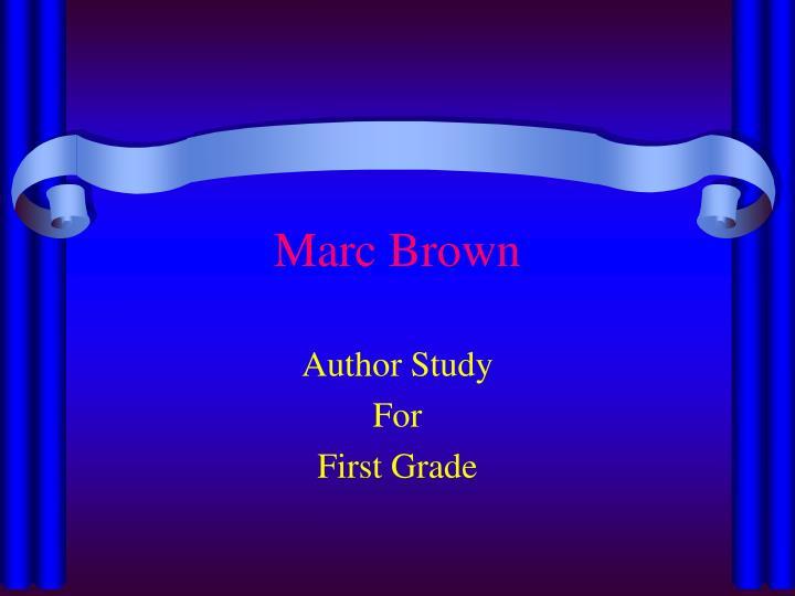 marc brown n.