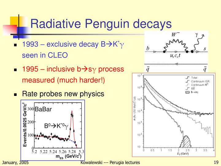 Radiative Penguin decays