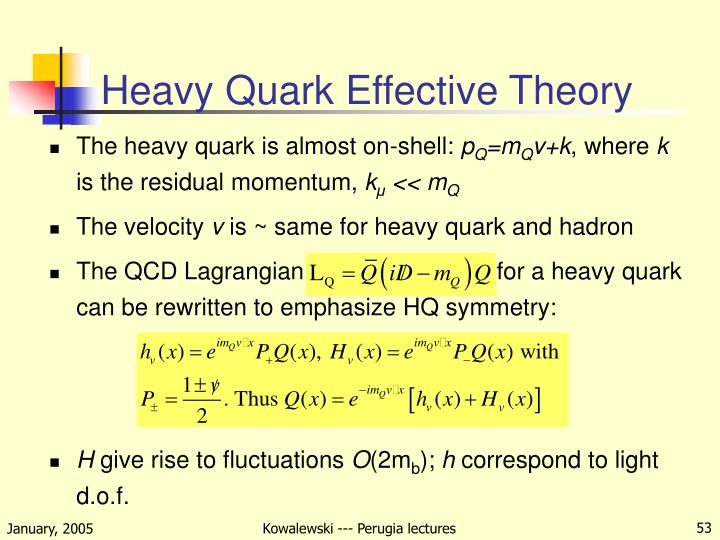 Heavy Quark Effective Theory
