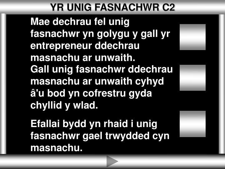 YR UNIG FASNACHWR C2