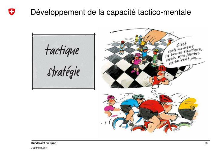 Développement de la capacité tactico-mentale