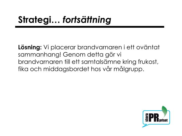 Strategi…