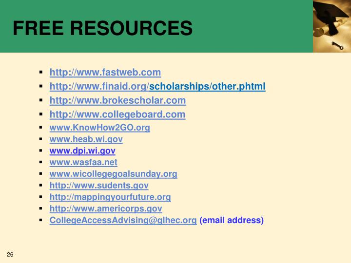 FREE RESOURCES
