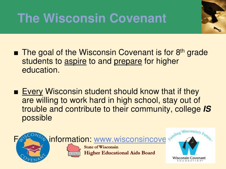 The Wisconsin Covenant