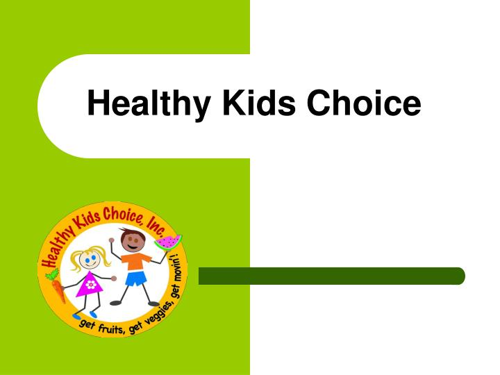 healthy kids choice n.