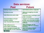data services past future