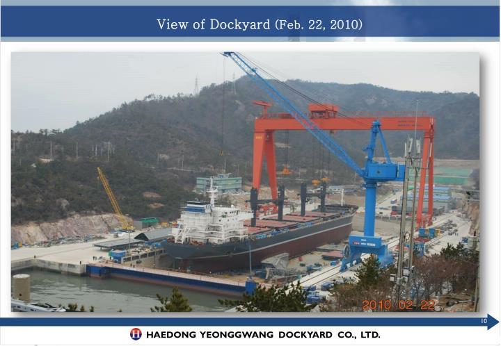 View of Dockyard