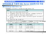 openxml sql server 2000 1