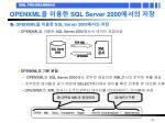 openxml sql server 2000