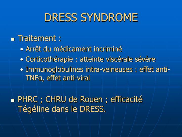 DRESS SYNDROME