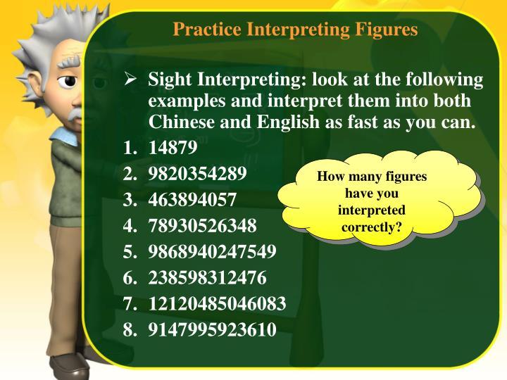 Practice Interpreting Figures