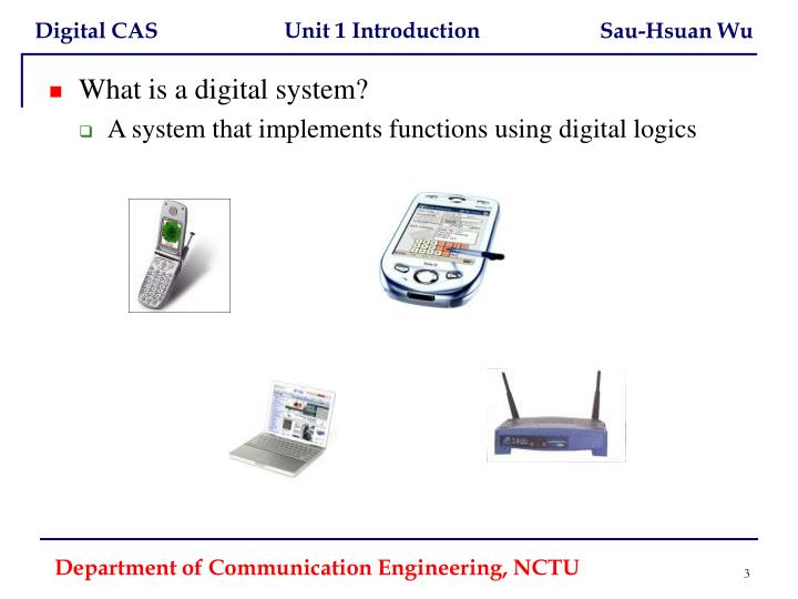 What is a digital system?