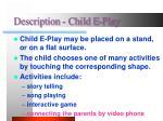 description child e play