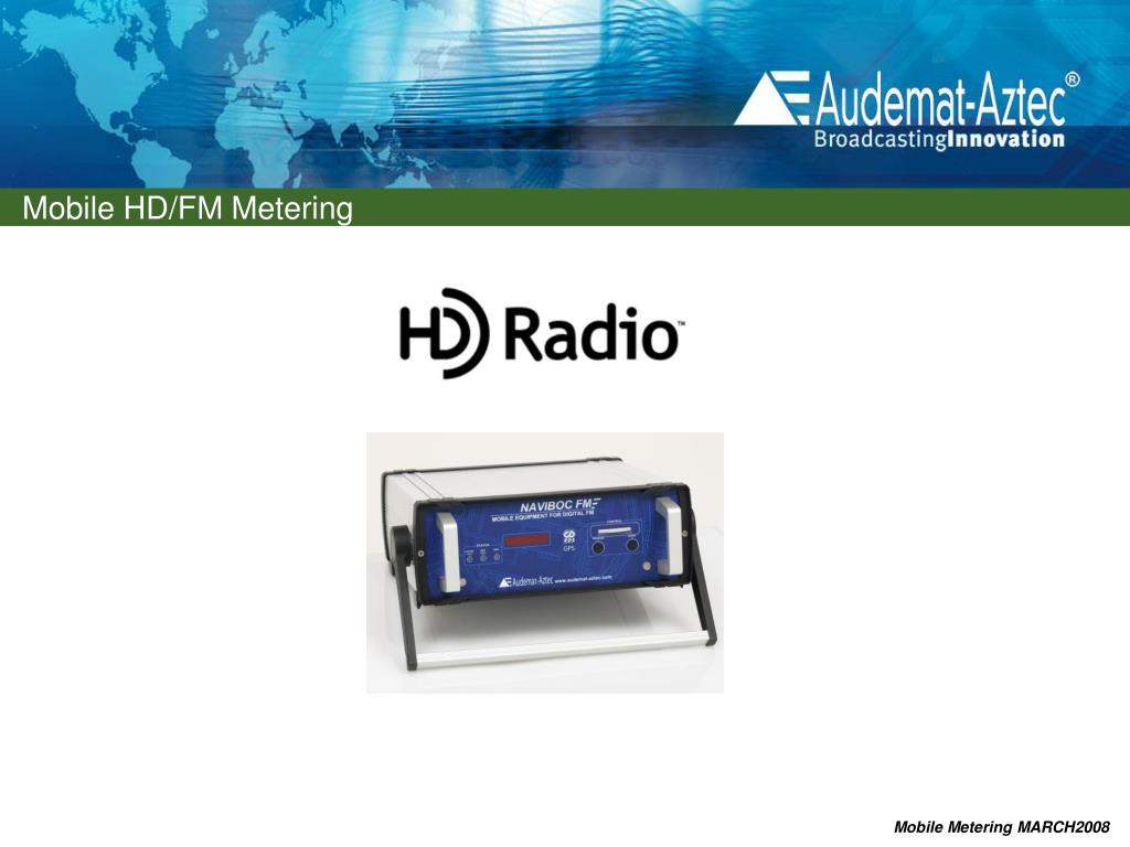 PPT - FM and HD/FM MOBILE METERING PowerPoint Presentation - ID:3557822