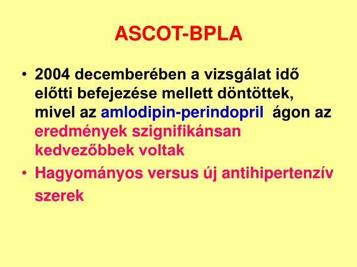 ASCOT-BPLA