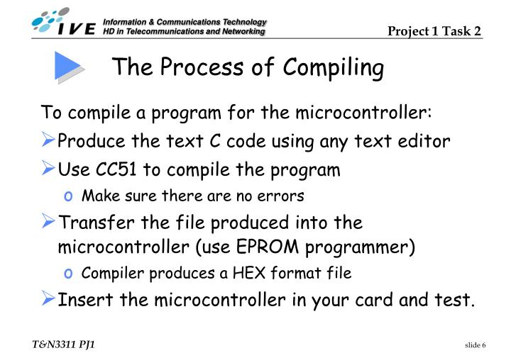The Process of Compiling
