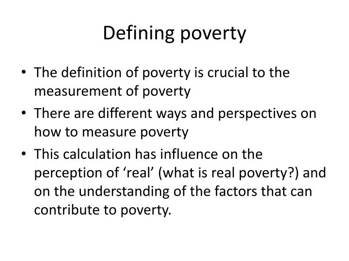 poverty as a social problem second Appreciation of the nonmaterial dimensions of poverty and second social exclusion: concept, application, and scrutiny social exclusion: concept, application.
