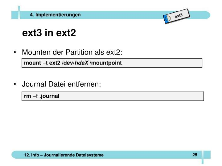 ext3 in ext2